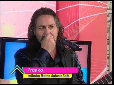 Nos visita el imitador de Marco Antonio Solis