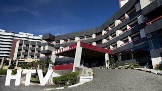 Ver más en http://www.hotelesentv.com/hotel/br/itajuba-bahiamar.html Bahiamar Hotel dispone de 128 habitaciones provistas de minibar, ducha y caja fuerte.