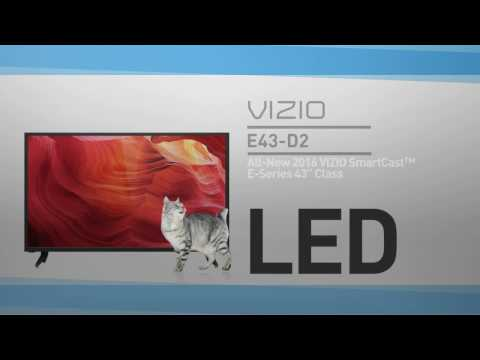 "All-New 2016 VIZIO E43-D2 SmartCast™ E-Series 43"" Class HDTV // Full Specs Review  #VIZIO"