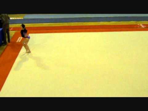 Louna gymnastique : Championnat régional Ile de France Est février 2012