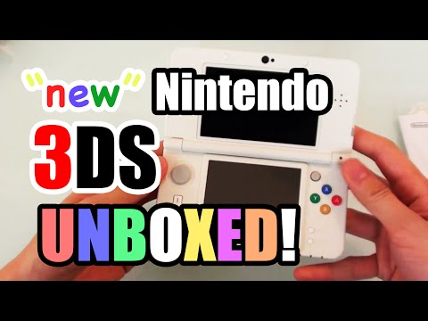 NEW Nintendo 3DS UNBOXED!