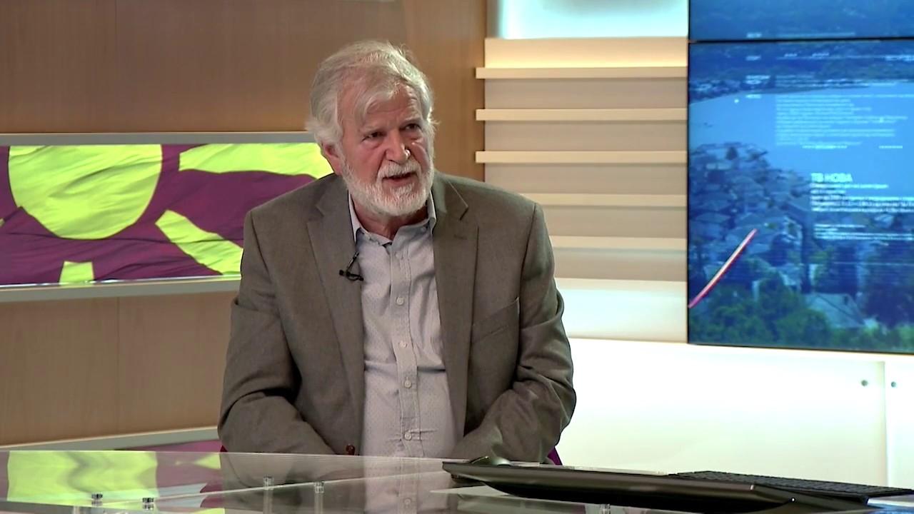 Академик Митко Маџунков гостин во вестите на ТВ Нова