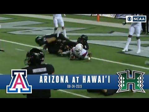 Video: Khalil Tate comes up JUST SHORT in INCREDIBLE game at Hawaii | NCAA FB Recap | CBS Sports HQ