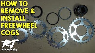 Video How To Remove/Install Cogs On A Freewheel MP3, 3GP, MP4, WEBM, AVI, FLV Agustus 2017