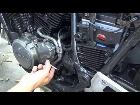 1985 Honda Shadow VT500 Stator removal / install DIY