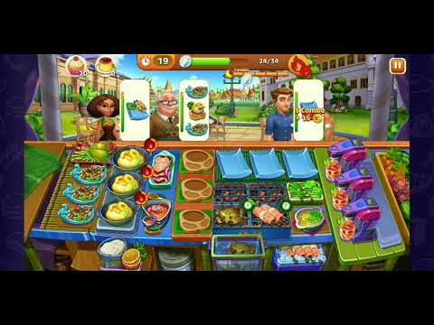Level 431-450 Cooking Madness - A Chefs Restaurant Games (3 Stars Level Only (Hard))
