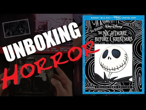 Unboxing Horror: The Nightmare Before Christmas