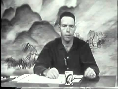 "Alan Watts Video: ""Time"" (Live Original TV Series)"