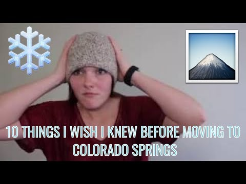 10 THINGS I WISH I KNEW BEFORE MOVING TO COLORADO SPRINGS (2018) | Living With J&M