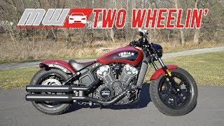 7. 2018 Indian Scout Bobber | Two Wheelin'
