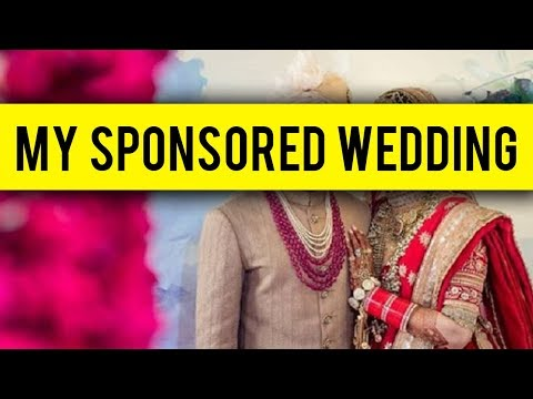 Rich Actress Gets SPONSORS For Her Wedding SHOCKS
