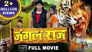 Video JUNGAL RAJ - Full Movie (न्यू भोजपुरी फिल्म  2018) - Viraj Bhatt, Anjana Dobson- Bhojpuri Movie 2018 MP3, 3GP, MP4, WEBM, AVI, FLV Juni 2019