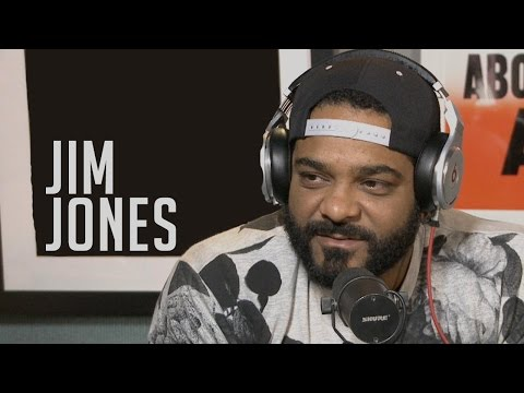 Jim Jones awkwardly dodges Dame Dash questions