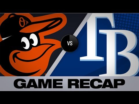 Video: Meadows backs shutout effort vs. Orioles | Orioles-Rays Game Highlights 9/3/19
