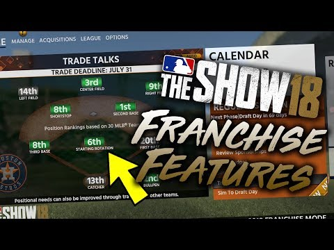 6 Franchise Features Improved in MLB The Show 18 (видео)