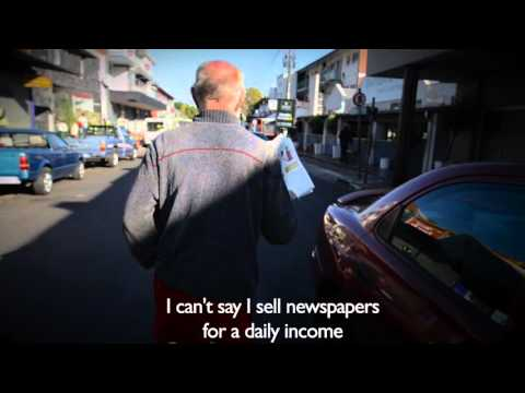 I am a newspaper seller