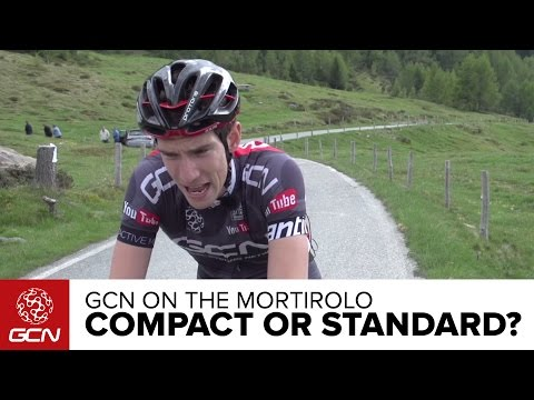 Is A Compact Faster Than A Standard Chainset? GCN Vs. The Mortirolo | Giro D'Italia 2015