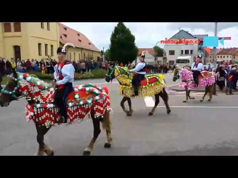 Jízda králů Kunovice 18.5.2014