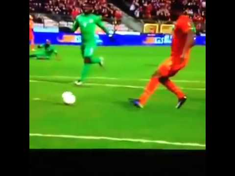 Christian Benteke with the worst miss you will see this week