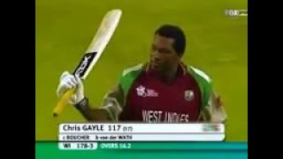 CHRIS GAYLE 1st century in T20 Cricket (117 of 57)vs SA.2007 full download video download mp3 download music download
