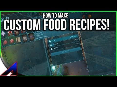 Making Custom Food Recipes! | Solo Official PvP Servers | ARK: Survival Evolved | Ep 75