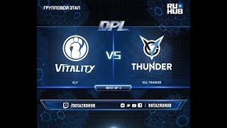 IG.V vs VGJ. Thunder, DPL 2018, game 1 [Lum1Sit]
