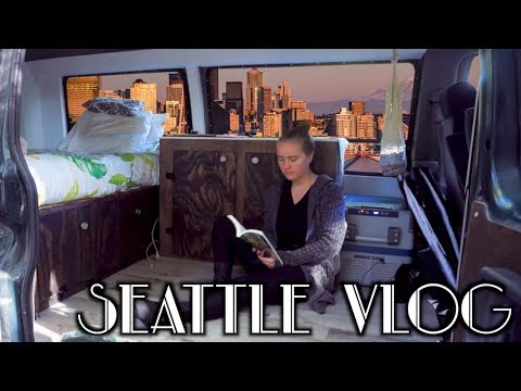 Quotes about happiness - Van Life in SEATTLE