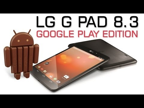 LG G Pad 8.3 Google Play edition Overview