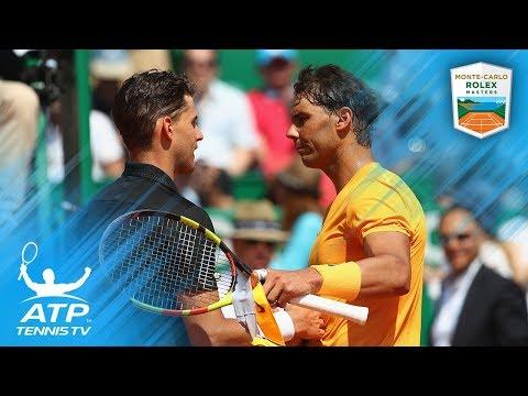 Nadal Scorches Thiem, Zverev Wins Birthday Epic   Monte-Carlo 2018 Quarter-Final Highlights
