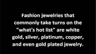 Fashion Costume Jewelry YouTube video