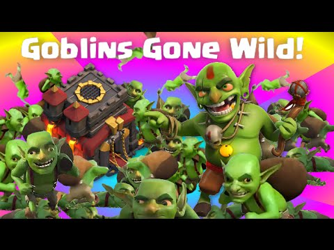 wild - Clash of Clans Attacks presents Goblins Gone Wild! Clash of Clans strategy, Clash of Clans Guide / tutorial / failtage / how NOT to attack... Clash of Clans Attacks is (sort of) happy to bring...