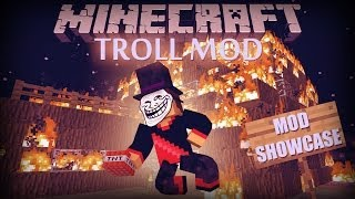 Minecraft: Troll Mod (Troll TNT, Troll Tools and More!) Mod Showcase