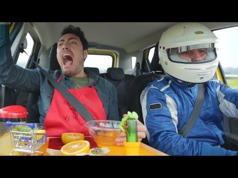 ricette di cucina in auto ad alta velocità!