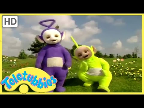 Here Come The Teletubbies and Dance With The Teletubbies 2000 UK DVD