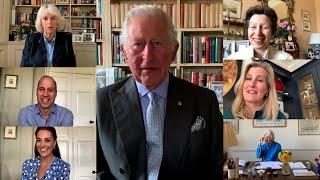 video: Watch: Royal Family team up to call nurses around the globe