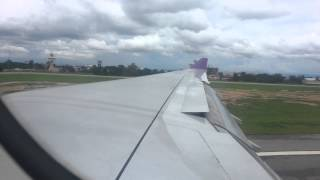 Thai Airways Airbus A330-300 TG 111 Smooth Landing In Chiang Mai