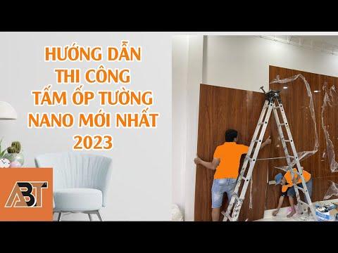 Hướng dẫn thi công tấm ốp tường ABT