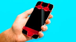 Video 23 CRAZY PHONE CRAFTS YOU HAVE TO TRY YOURSELF MP3, 3GP, MP4, WEBM, AVI, FLV Juni 2018