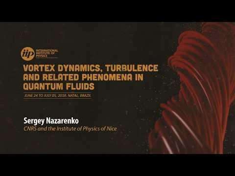 Wave turbulence II - Sergey Nazarenko