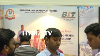 Bharat International Travels-Travel and Tourism Fair 2017 at Hitex,Hyderabad  Hybiz► Watch More Business Videos at Indias Leading online business channel http://www.hybiz.tv► Like us on Facebook:  http://www.facebook.com/hybiz► Watch More Videos on http://www.youtube.com/hybiztv► Subscribe to HYBIZTV Channel:  goo.gl/EEXqfu