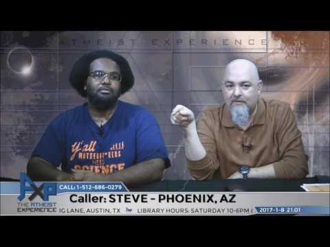 Everything Possible is True?   Steve - Phoenix, AZ   Atheist Experience 21.01 видео