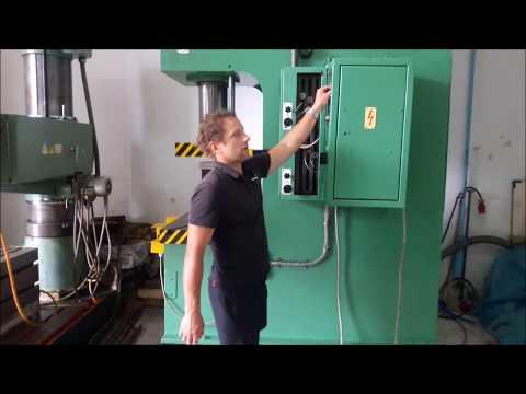 C Frame Hydraulic Press VEB ZEULENRODA ERFURT PYE 63 SS 1990