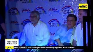 Fernando Lugo hace promesas y pide votos