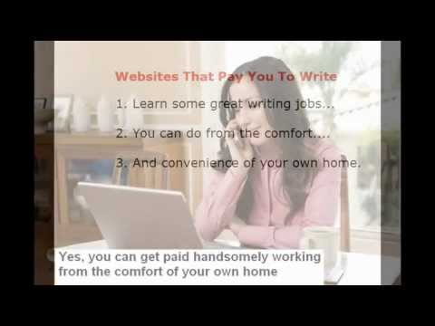 How to write articles and get paid online