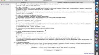 ملف طلب الفيزا للتجار الجزائريين لفرنسا بالعربية و الفرنسية