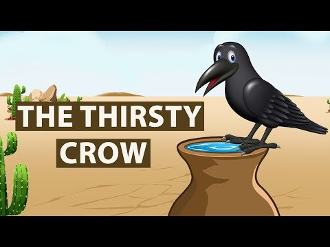 Thirsty Crow Story in English   Moral stories for Kids   Bedtime Stories for Children