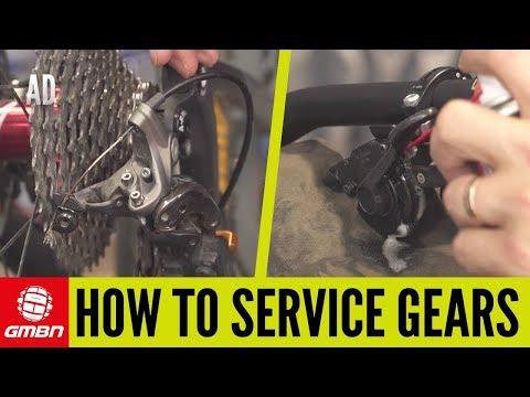 How To Service Your Shimano MTB Gears | Mountain Bike Maintenance