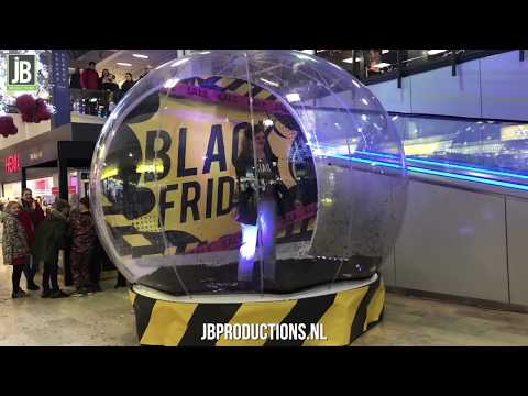 Video van Black Friday Globe | Attractiepret.nl
