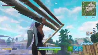 I killed iRunYew ! (crazy build Fight) I SURVIVED LIGMA