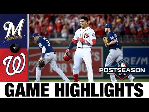 Juan Soto's clutch hit in the 8th lifts Nationals | NL Wild Card Highlights 10/1/19